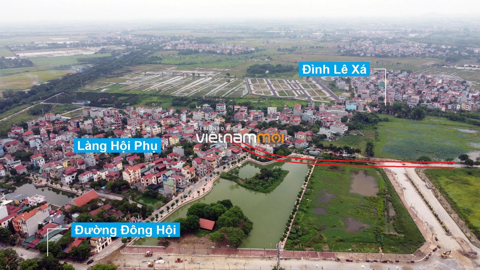 Đường sẽ mở theo quy hoạch ở xã Đông Hội, Đông Anh, Hà Nội (phần 2) - Ảnh 10.