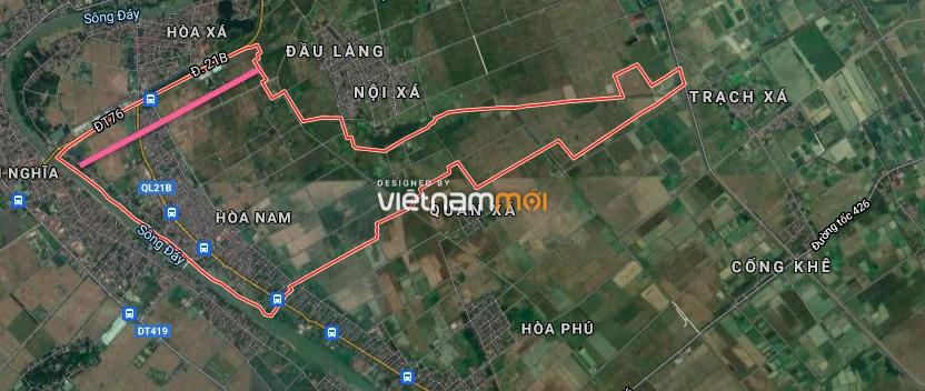 Đường sẽ mở ở xã Hoà Nam, Ứng Hoà, Hà Nội - Ảnh 2.