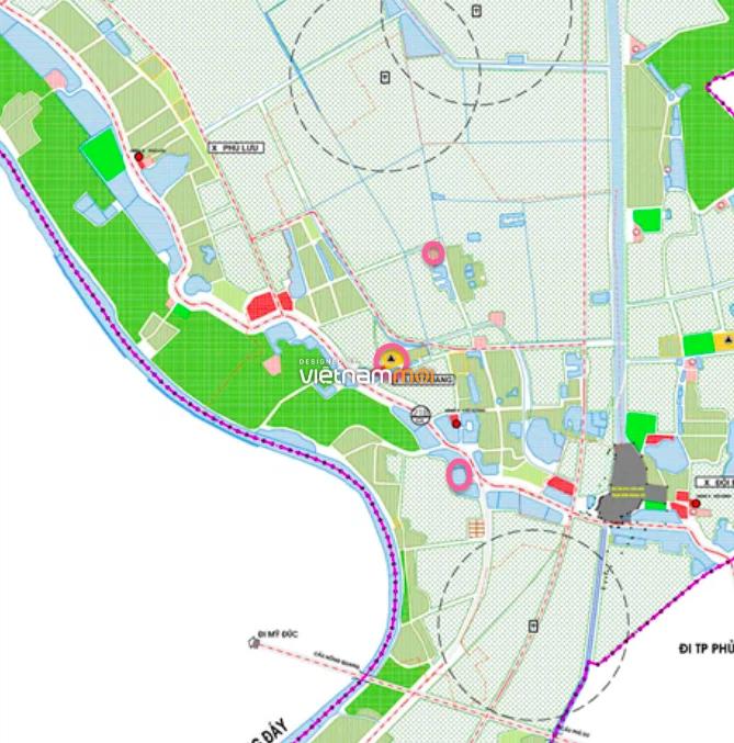 Đất dính quy hoạch ở xã Lưu Hoàng, Ứng Hoà, Hà Nội - Ảnh 1.