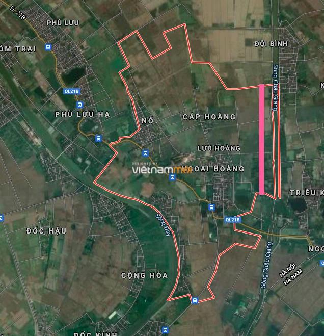 Đường sẽ mở ở xã Lưu Hoàng, Ứng Hoà, Hà Nội - Ảnh 2.