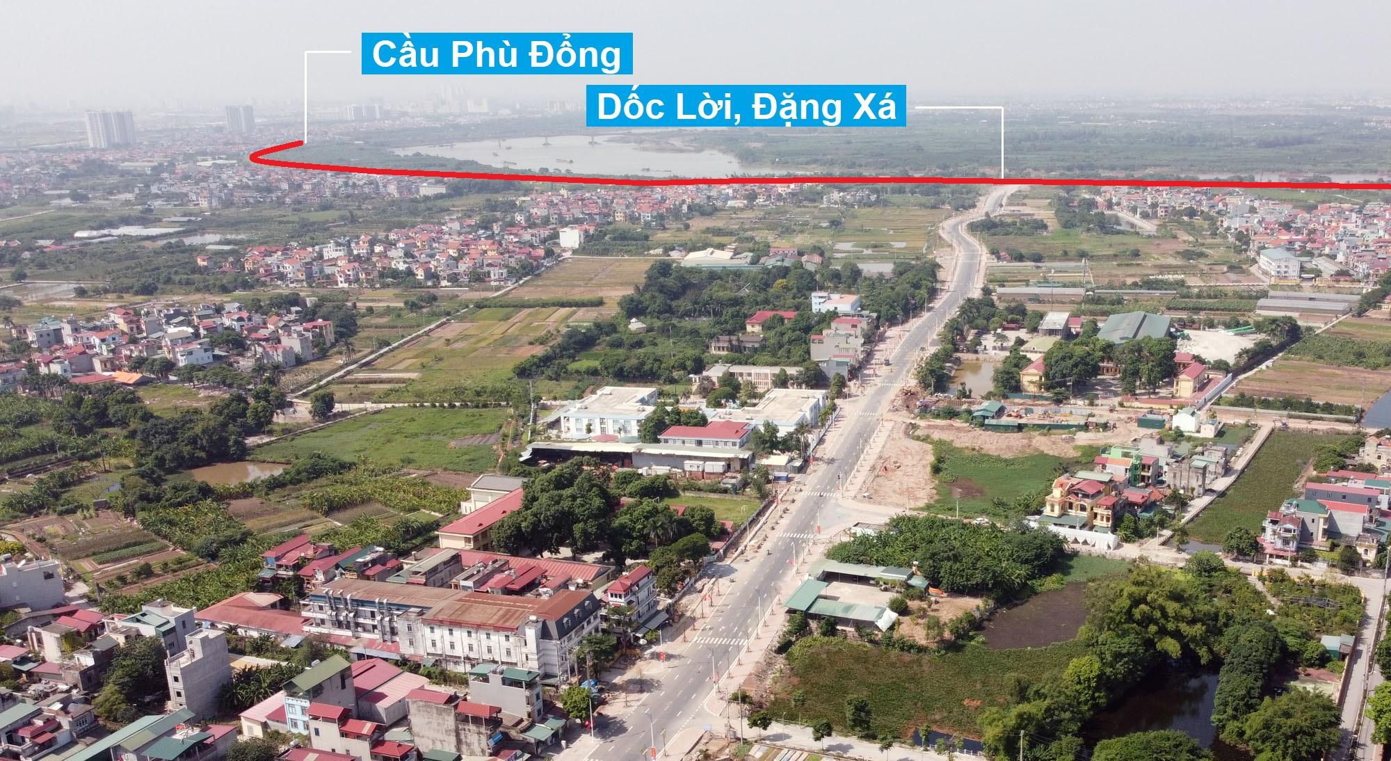 Tiến độ dự án đường đê Hữu Đuống đoạn Dốc Lời, Đặng Xá đến xã Lệ Chi trị giá 500 tỷ đồng ở Gia Lâm - Ảnh 1.