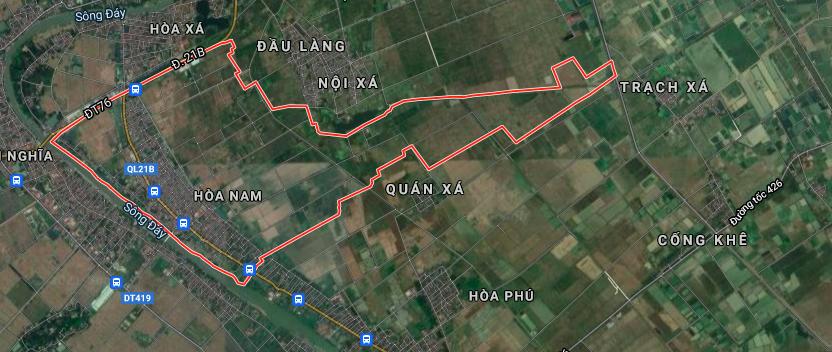 Đất dính quy hoạch ở xã Hoà Nam, Ứng Hoà, Hà Nội - Ảnh 2.
