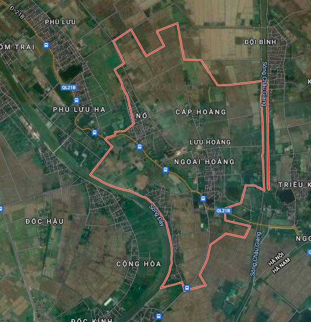 Đất dính quy hoạch ở xã Lưu Hoàng, Ứng Hoà, Hà Nội - Ảnh 2.