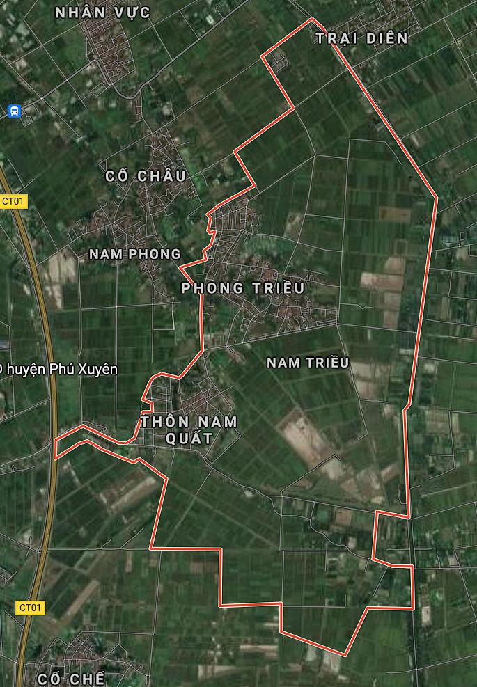 Kế hoạch sử dụng đất xã Nam Triều, Phú Xuyên, Hà Nội năm 2021 - Ảnh 1.
