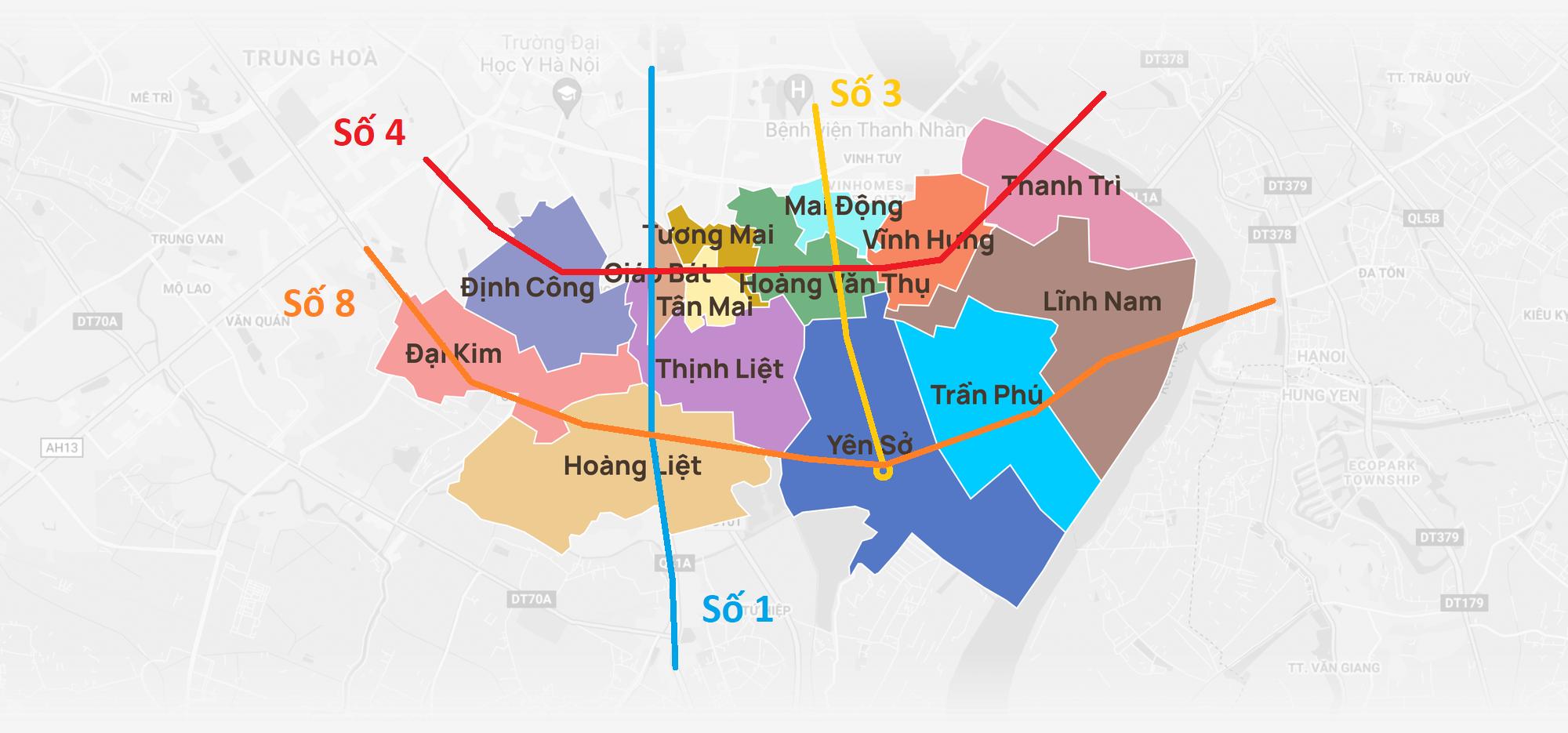 Loạt thông tin quy hoạch nên biết khi mua nhà đất tại quận Hoàng Mai, Hà Nội - Ảnh 11.