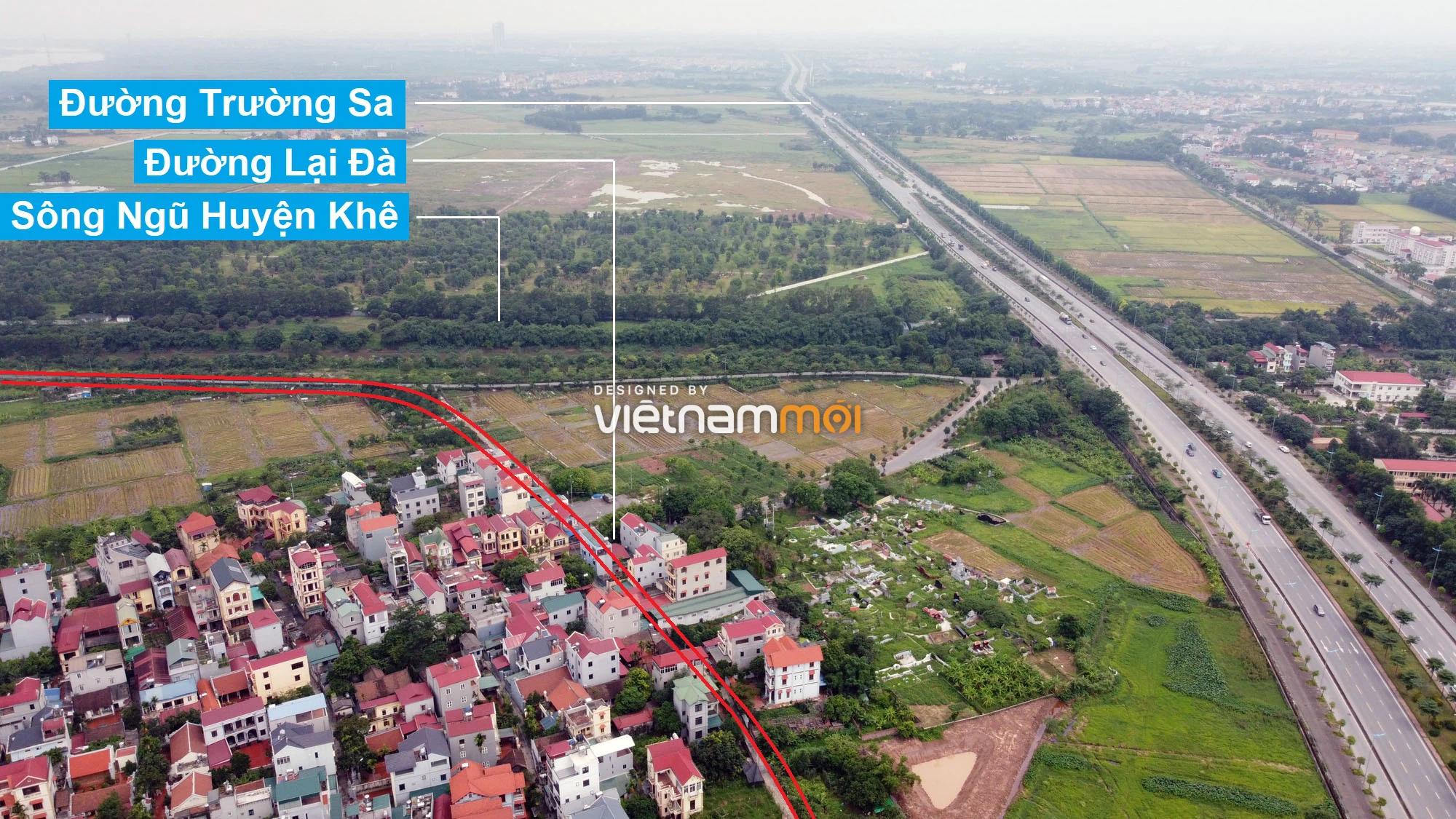 Đường sẽ mở theo quy hoạch ở xã Đông Hội, Đông Anh, Hà Nội (phần 3) - Ảnh 4.