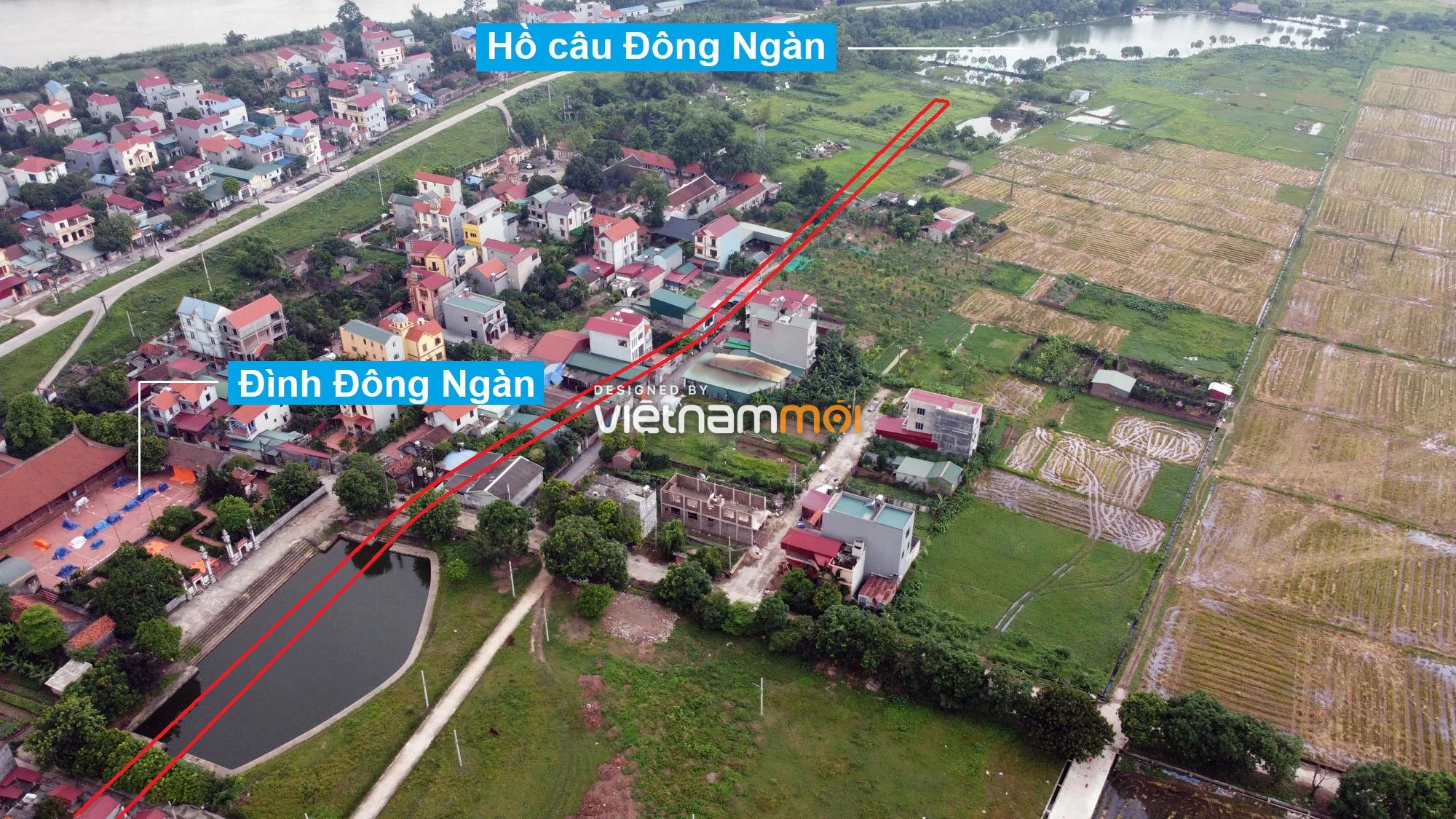 Đường sẽ mở theo quy hoạch ở xã Đông Hội, Đông Anh, Hà Nội (phần 3) - Ảnh 8.