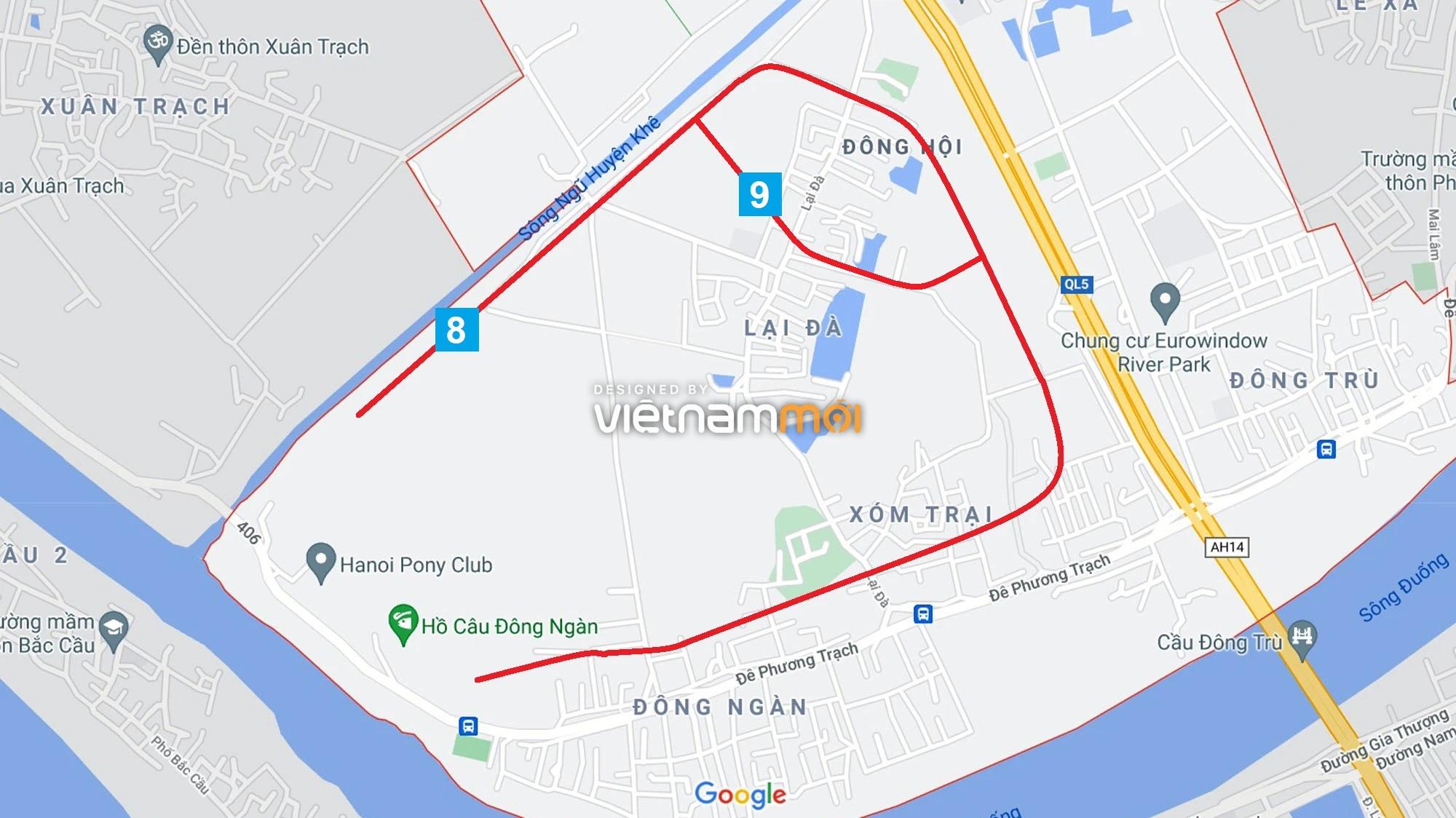 Đường sẽ mở theo quy hoạch ở xã Đông Hội, Đông Anh, Hà Nội (phần 3) - Ảnh 9.