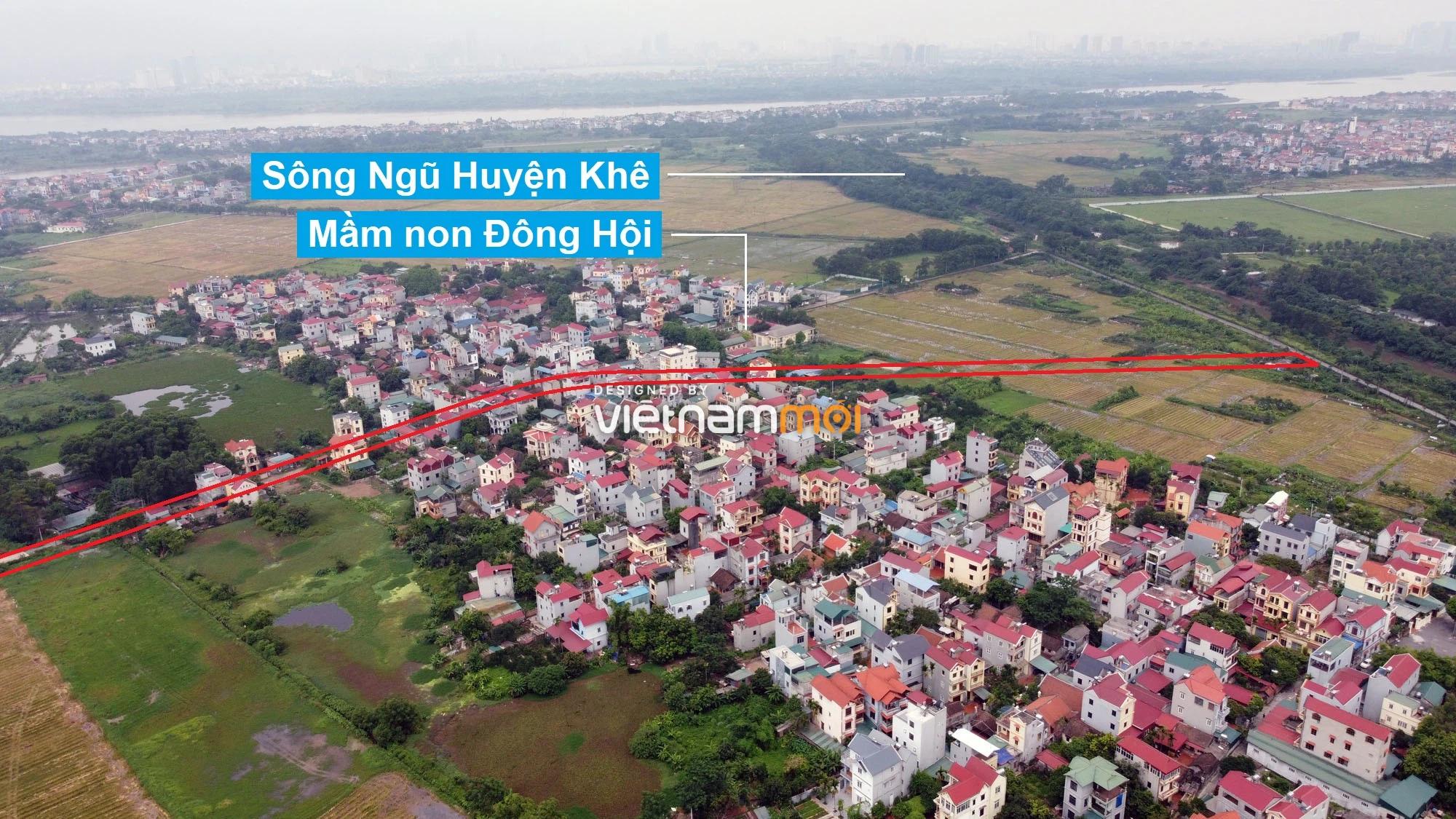 Đường sẽ mở theo quy hoạch ở xã Đông Hội, Đông Anh, Hà Nội (phần 3) - Ảnh 10.