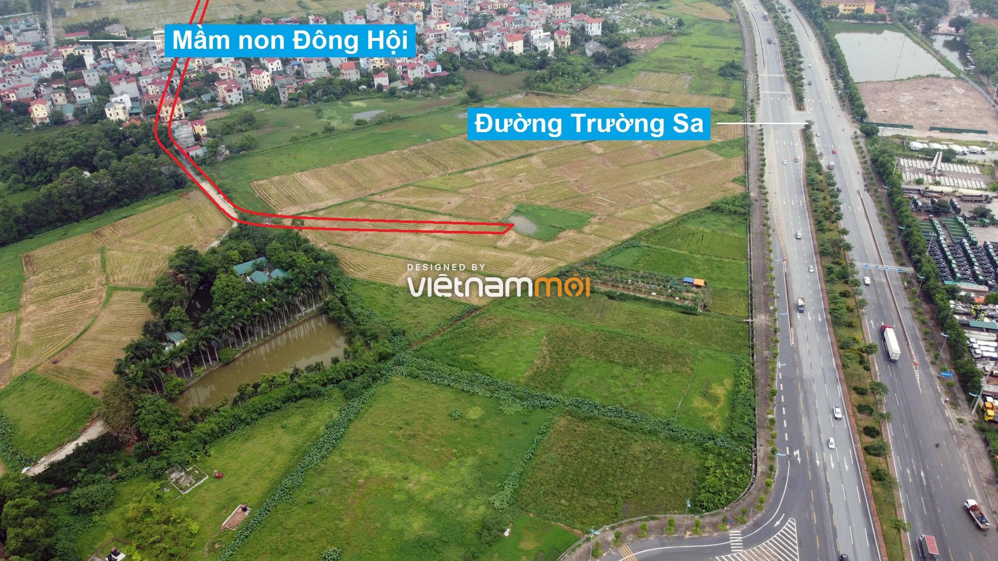 Đường sẽ mở theo quy hoạch ở xã Đông Hội, Đông Anh, Hà Nội (phần 3) - Ảnh 11.