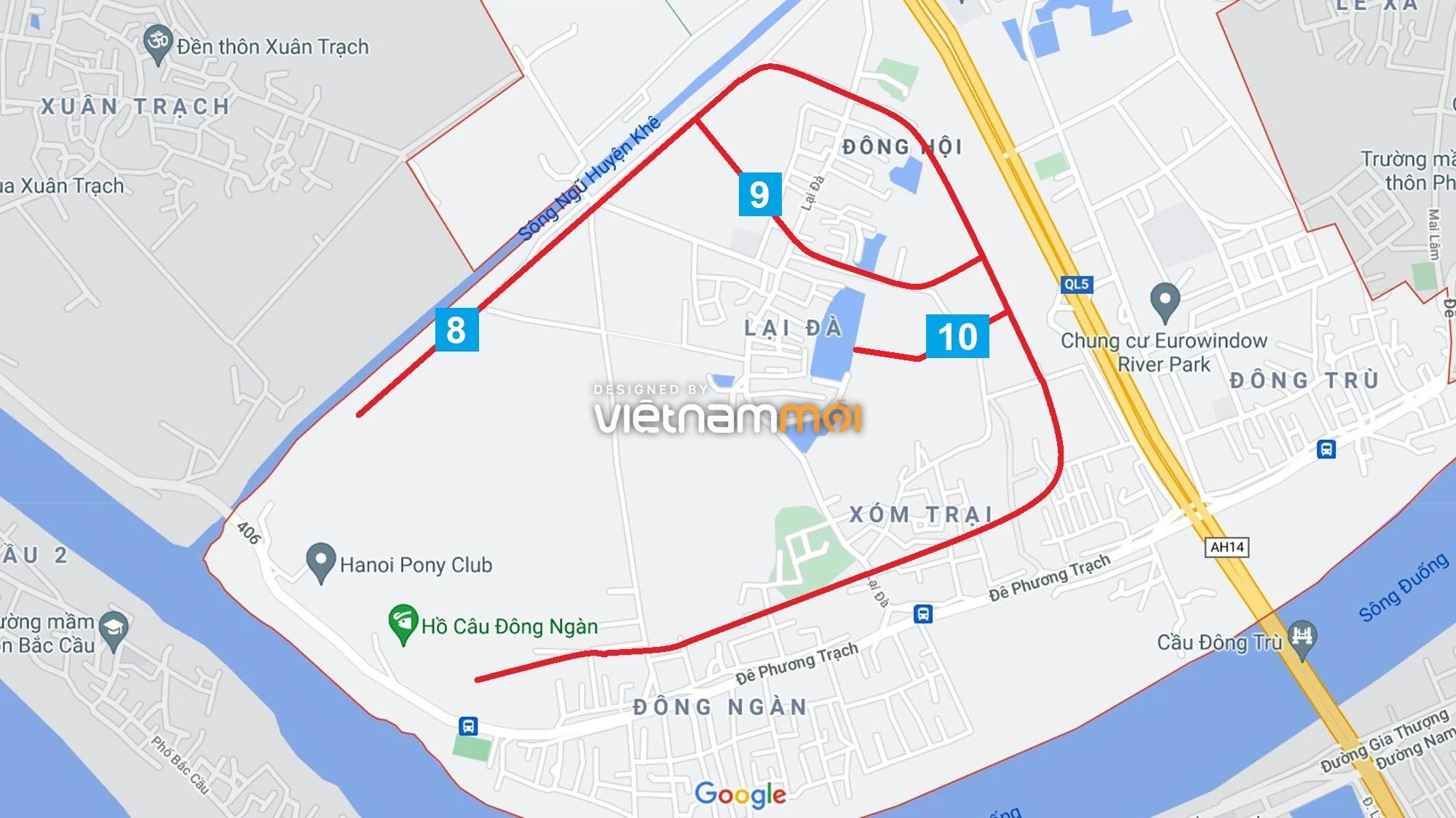Đường sẽ mở theo quy hoạch ở xã Đông Hội, Đông Anh, Hà Nội (phần 3) - Ảnh 13.