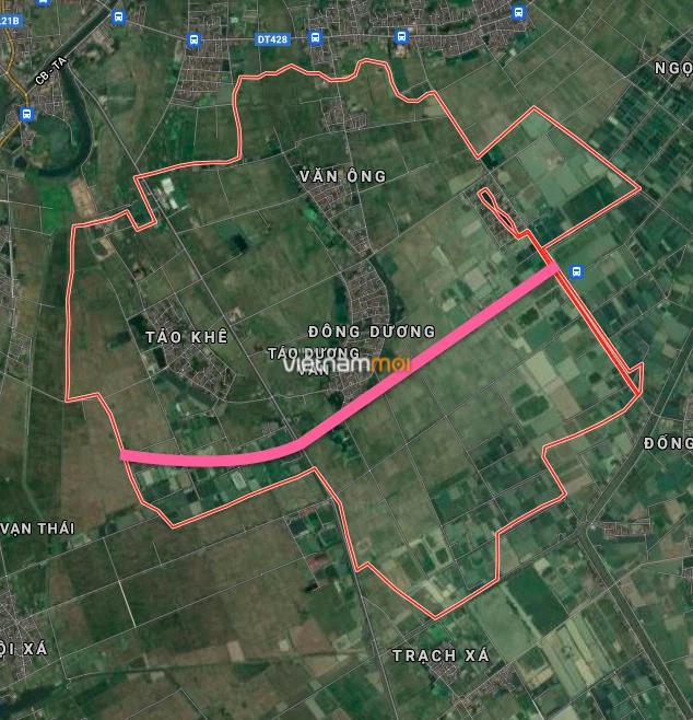 Đường sẽ mở ở xã Tảo Dương Văn, Ứng Hoà, Hà Nội - Ảnh 2.
