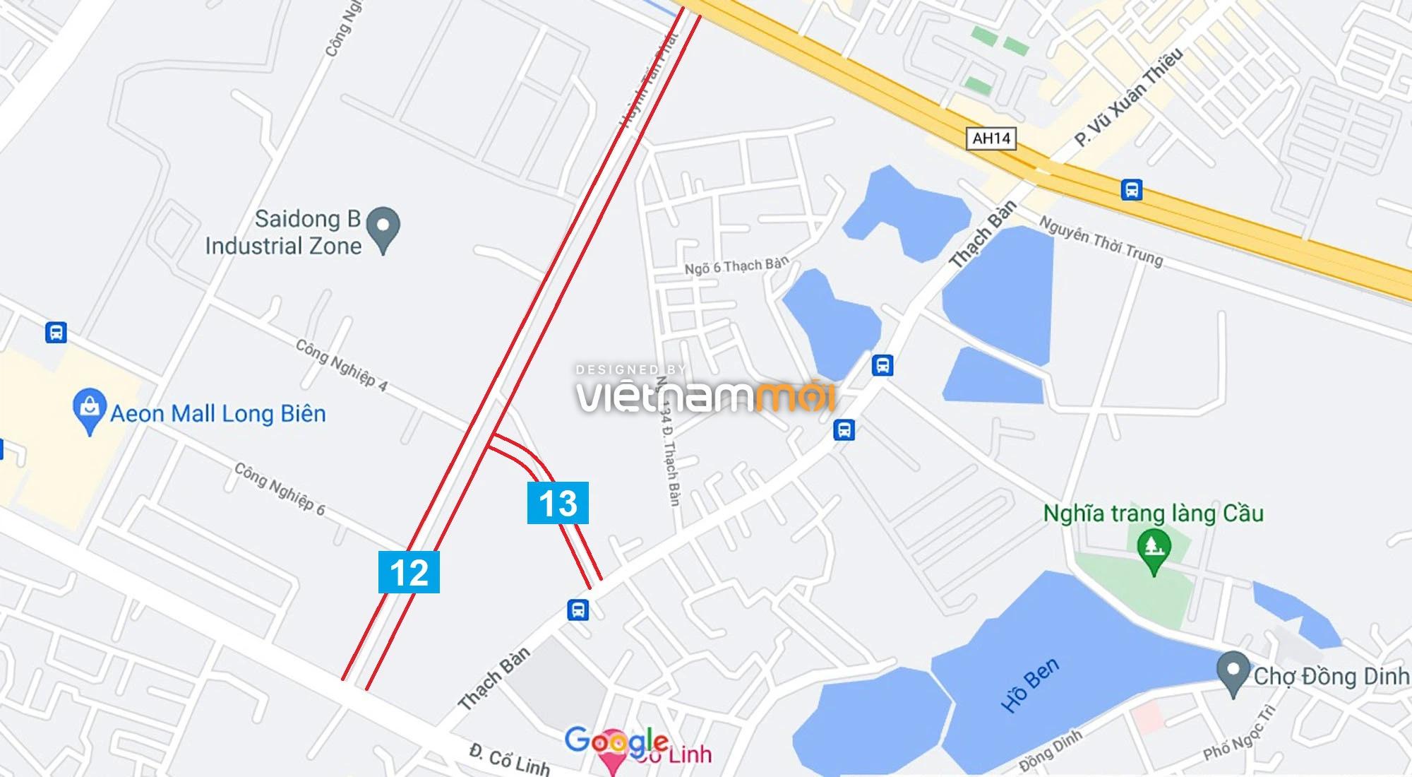 Đường sẽ mở theo quy hoạch ở phường Thạch Bàn, Long Biên, Hà Nội (phần 4) - Ảnh 4.