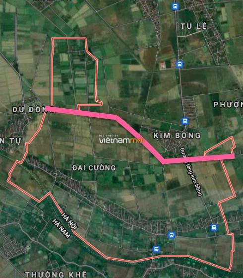 Đường sẽ mở ở xã Đại Cường, Ứng Hoà, Hà Nội - Ảnh 2.