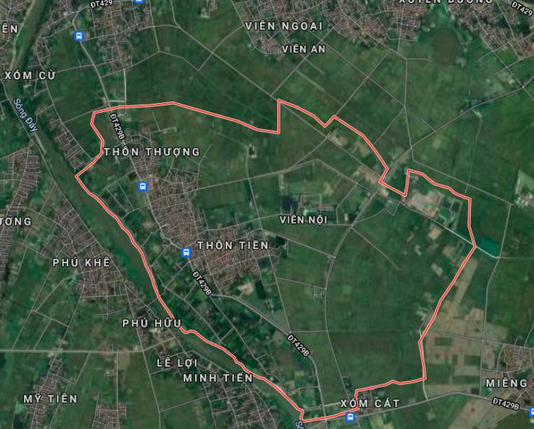 Đất dính quy hoạch ở xã Viên Nội, Ứng Hoà, Hà Nội - Ảnh 2.