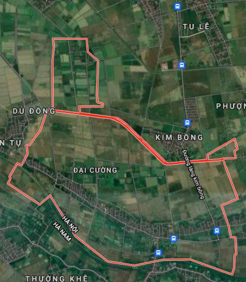 Đất dính quy hoạch ở xã Đại Cường, Ứng Hoà, Hà Nội - Ảnh 2.