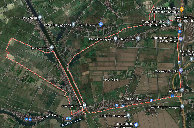 Kế hoạch sử dụng đất xã Phú Yên, Phú Xuyên, Hà Nội năm 2021 - Ảnh 1.