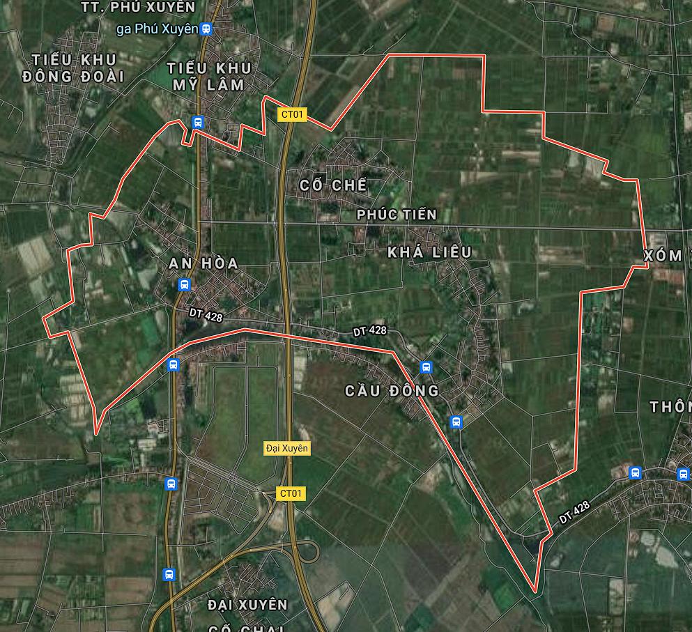 Kế hoạch sử dụng đất xã Phúc Tiến, Phú Xuyên, Hà Nội năm 2021 - Ảnh 1.
