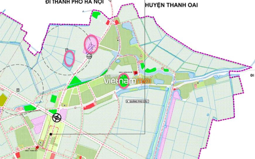 Đất dính quy hoạch ở xã Quảng Phú Cầu, Ứng Hoà, Hà Nội - Ảnh 1.