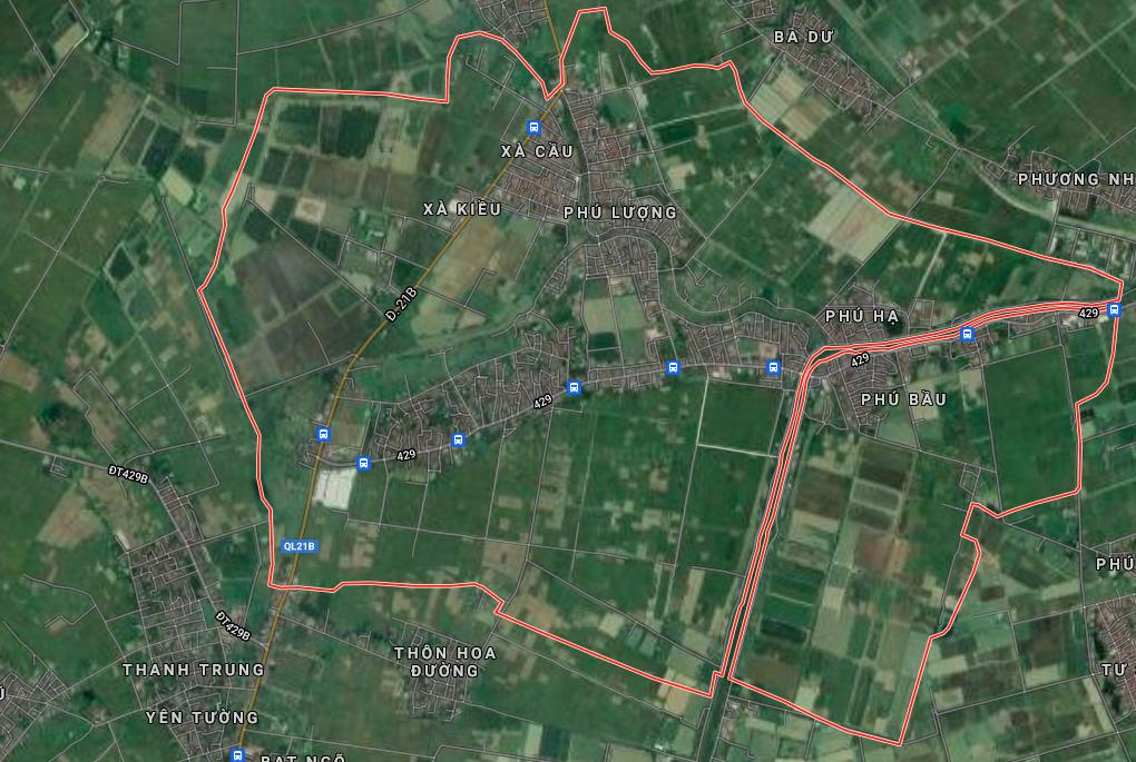 Đất dính quy hoạch ở xã Quảng Phú Cầu, Ứng Hoà, Hà Nội - Ảnh 2.