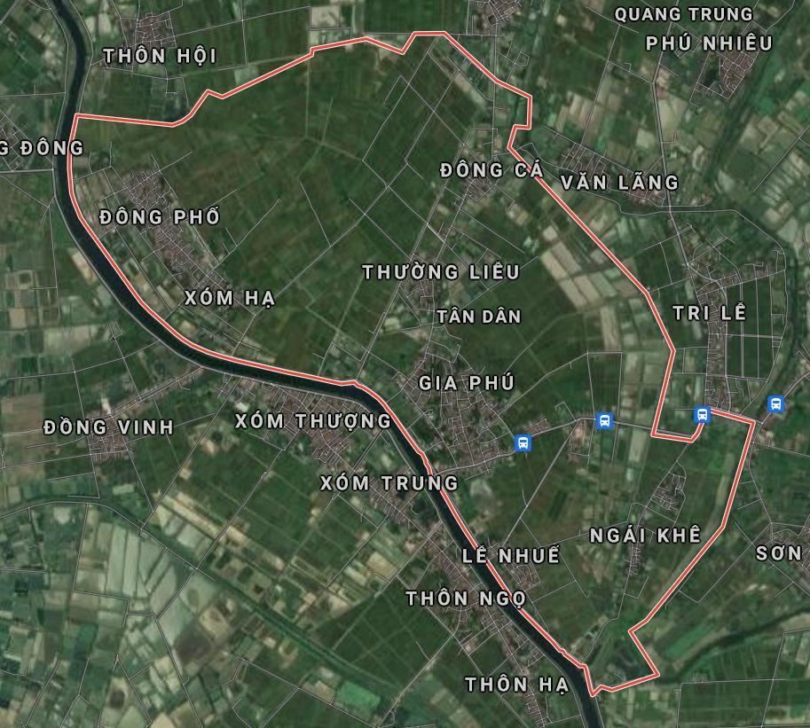 Kế hoạch sử dụng đất xã Tân Dân, Phú Xuyên, Hà Nội năm 2021 - Ảnh 1.