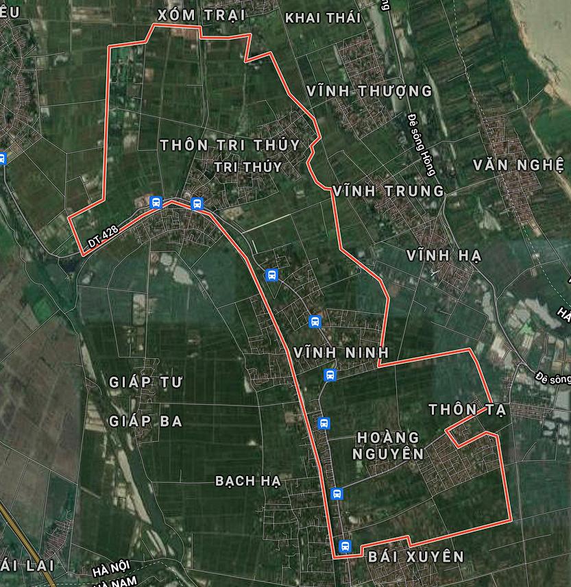 Kế hoạch sử dụng đất xã Tri Thủy, Phú Xuyên, Hà Nội năm 2021 - Ảnh 1.