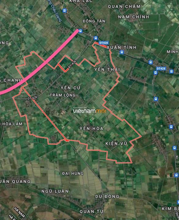 Đường sẽ mở ở xã Trầm Lộng, Ứng Hoà, Hà Nội - Ảnh 2.