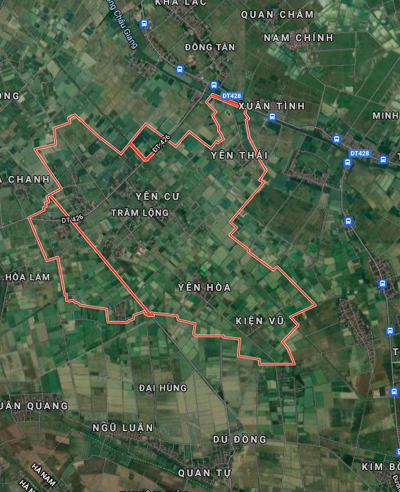 Đất dính quy hoạch ở xã Trầm Lộng, Ứng Hoà, Hà Nội - Ảnh 2.
