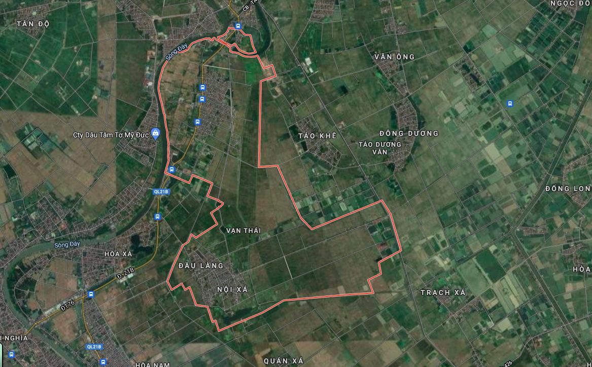 Đất dính quy hoạch ở xã Vạn Thái, Ứng Hoà, Hà Nội - Ảnh 2.