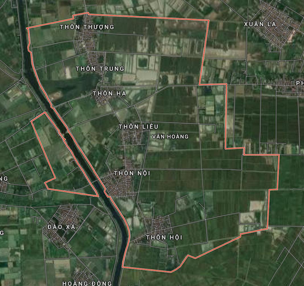Kế hoạch sử dụng đất xã Văn Hoàng, Phú Xuyên, Hà Nội năm 2021 - Ảnh 1.