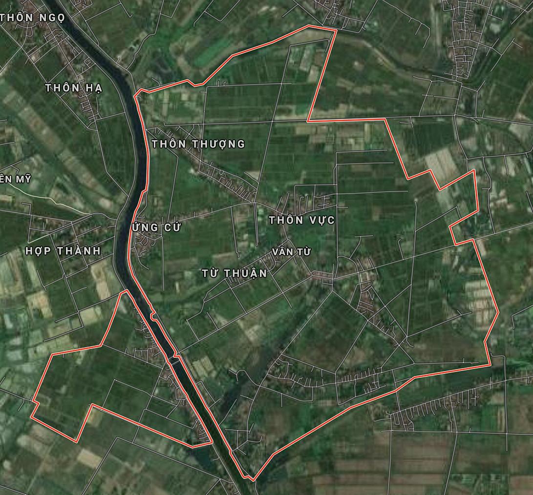 Kế hoạch sử dụng đất xã Vân Từ, Phú Xuyên, Hà Nội năm 2021 - Ảnh 1.