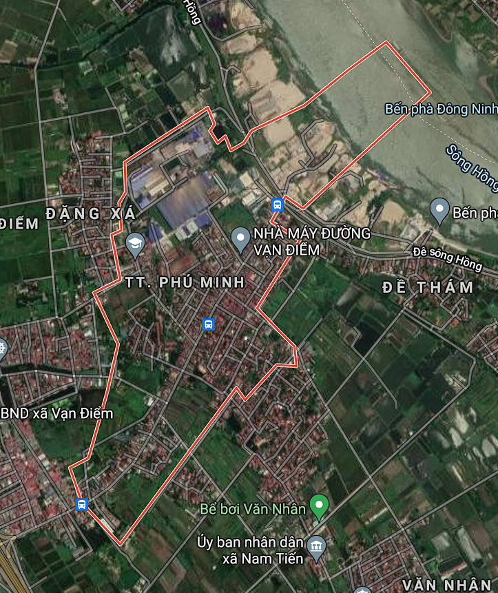 Kế hoạch sử dụng đất thị trấn Phú Minh, Phú Xuyên, Hà Nội năm 2021 - Ảnh 1.