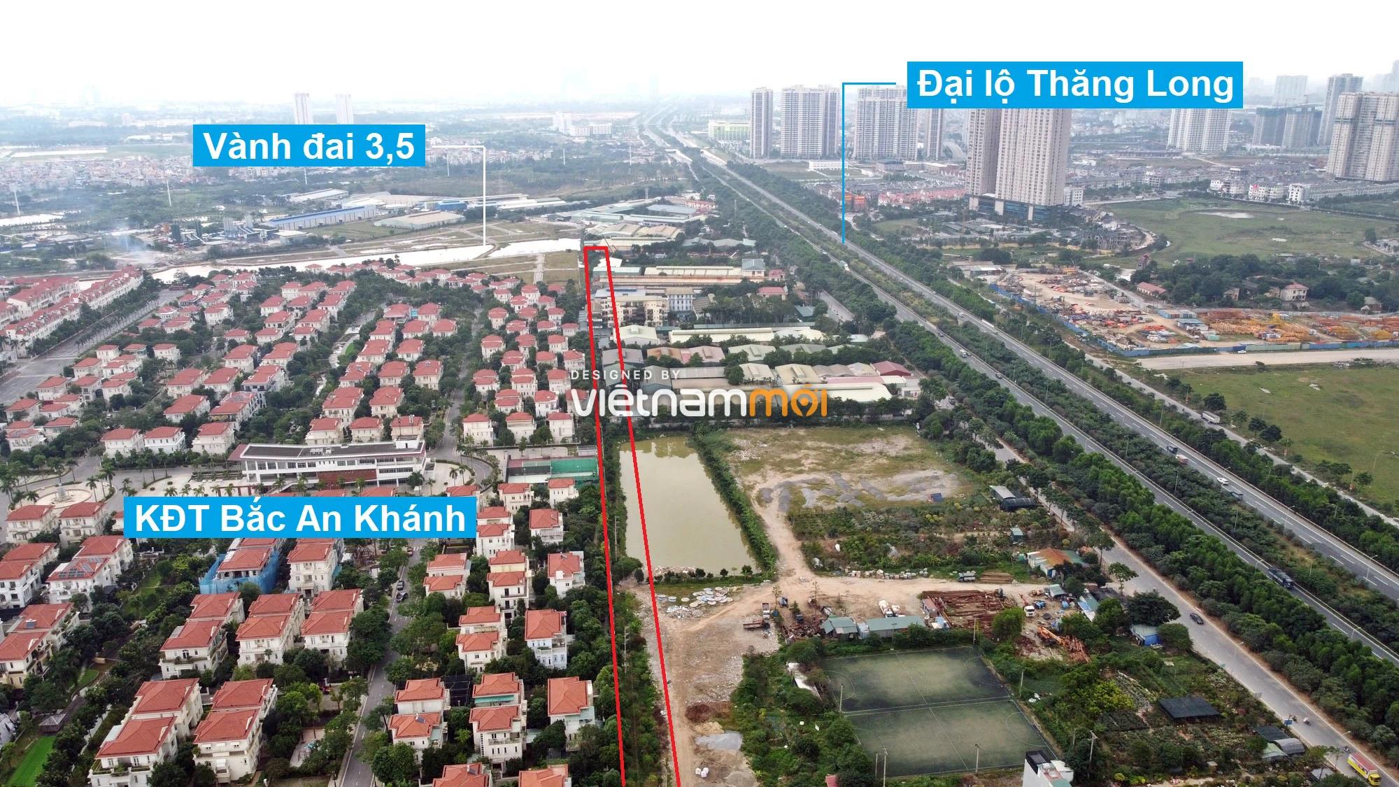 Đường sẽ mở theo quy hoạch ở xã An Khánh, Hoài Đức, Hà Nội (phần 2) - Ảnh 4.