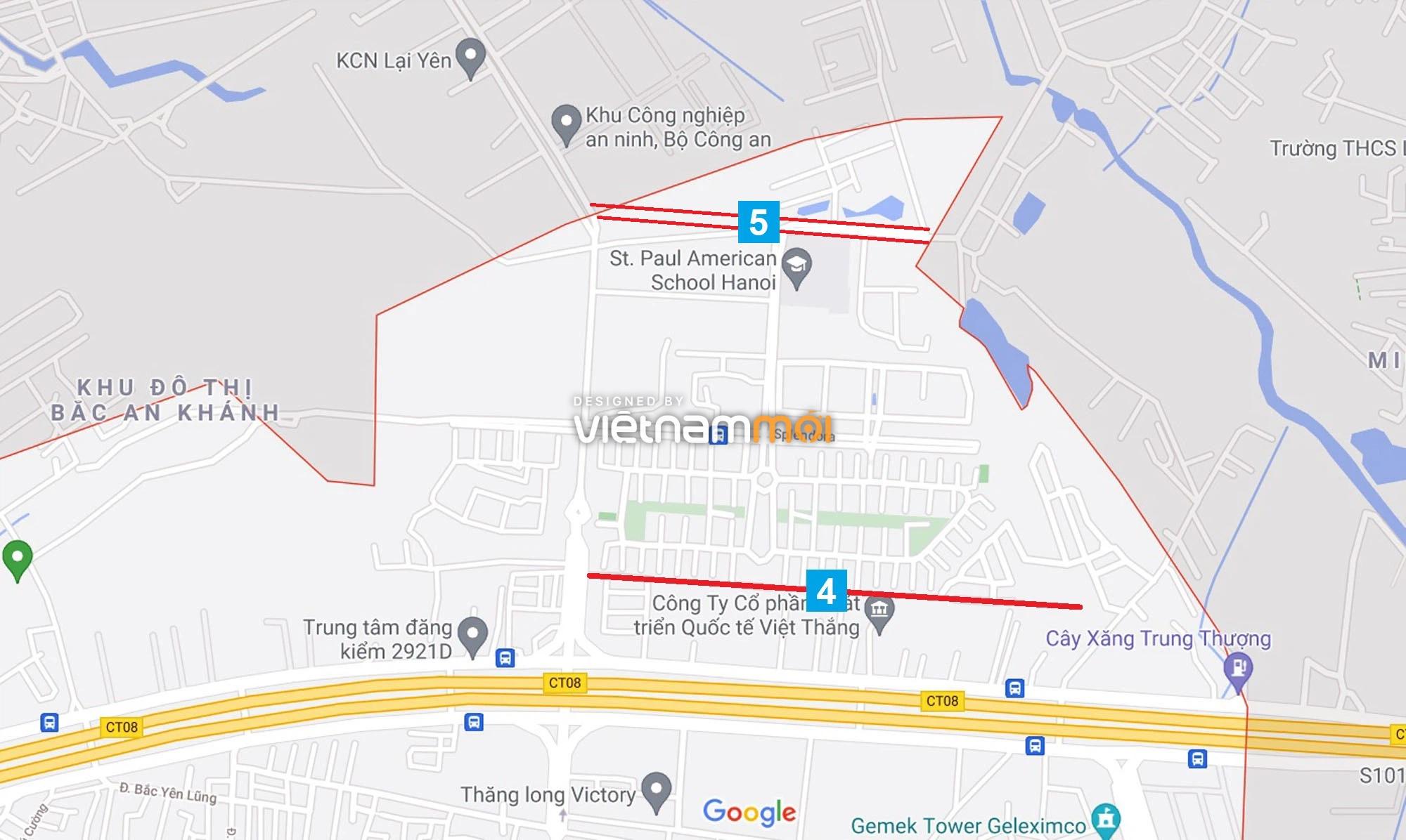 Đường sẽ mở theo quy hoạch ở xã An Khánh, Hoài Đức, Hà Nội (phần 2) - Ảnh 5.