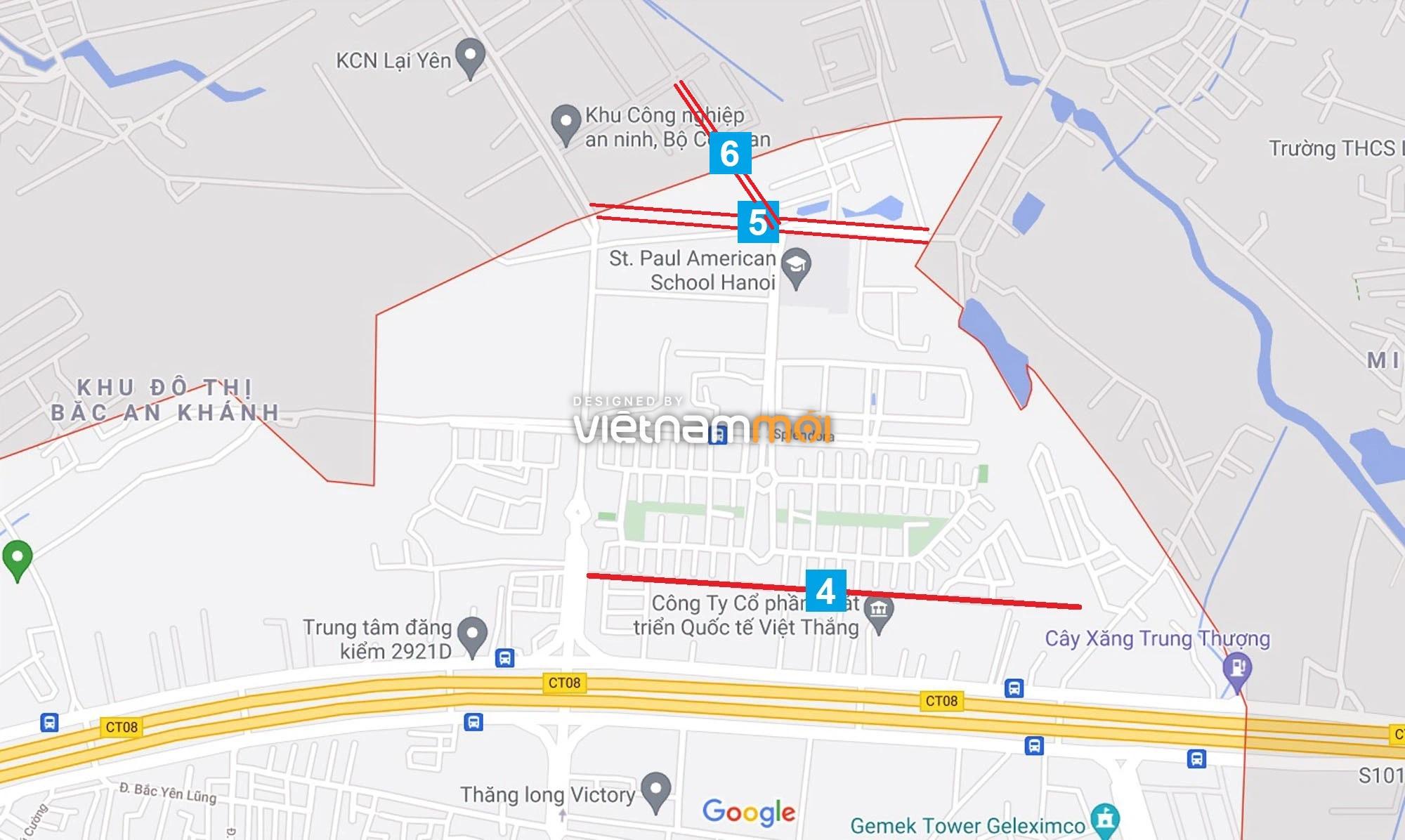 Đường sẽ mở theo quy hoạch ở xã An Khánh, Hoài Đức, Hà Nội (phần 2) - Ảnh 9.