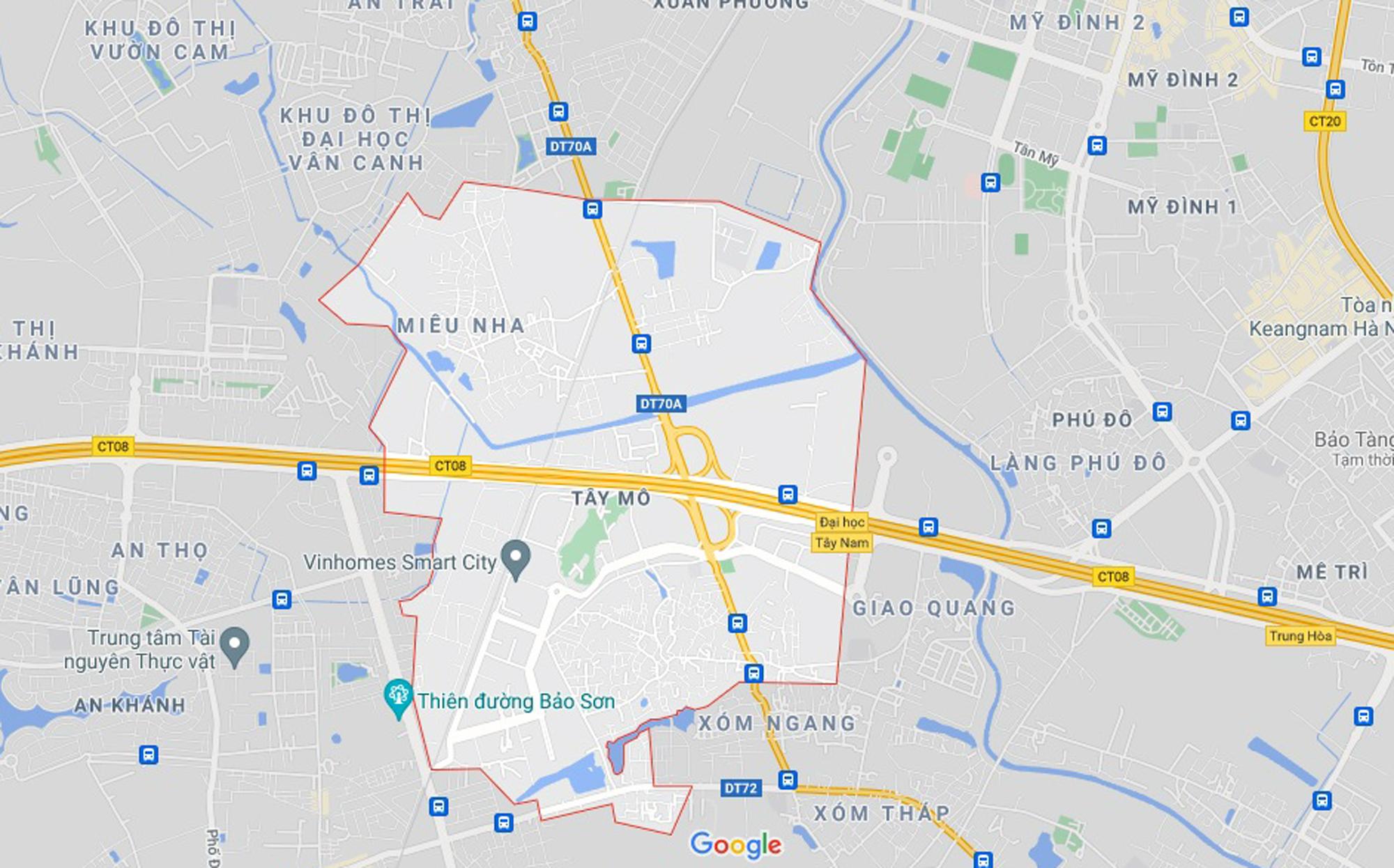 Những khu đất sắp thu hồi để mở đường ở phường Tây Mỗ, Nam Từ Liêm, Hà Nội (phần 5) - Ảnh 1.