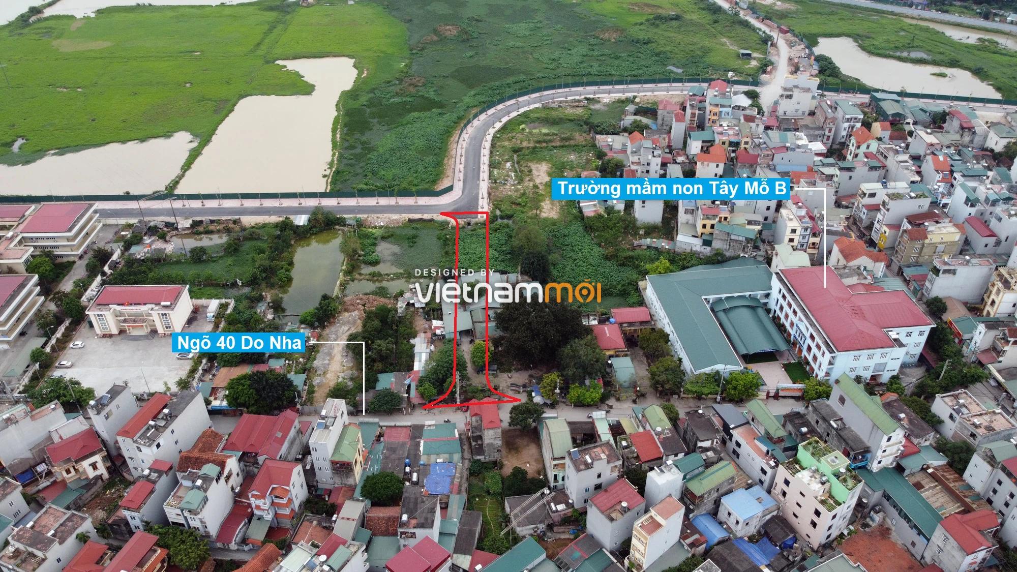 Những khu đất sắp thu hồi để mở đường ở phường Tây Mỗ, Nam Từ Liêm, Hà Nội (phần 5) - Ảnh 9.
