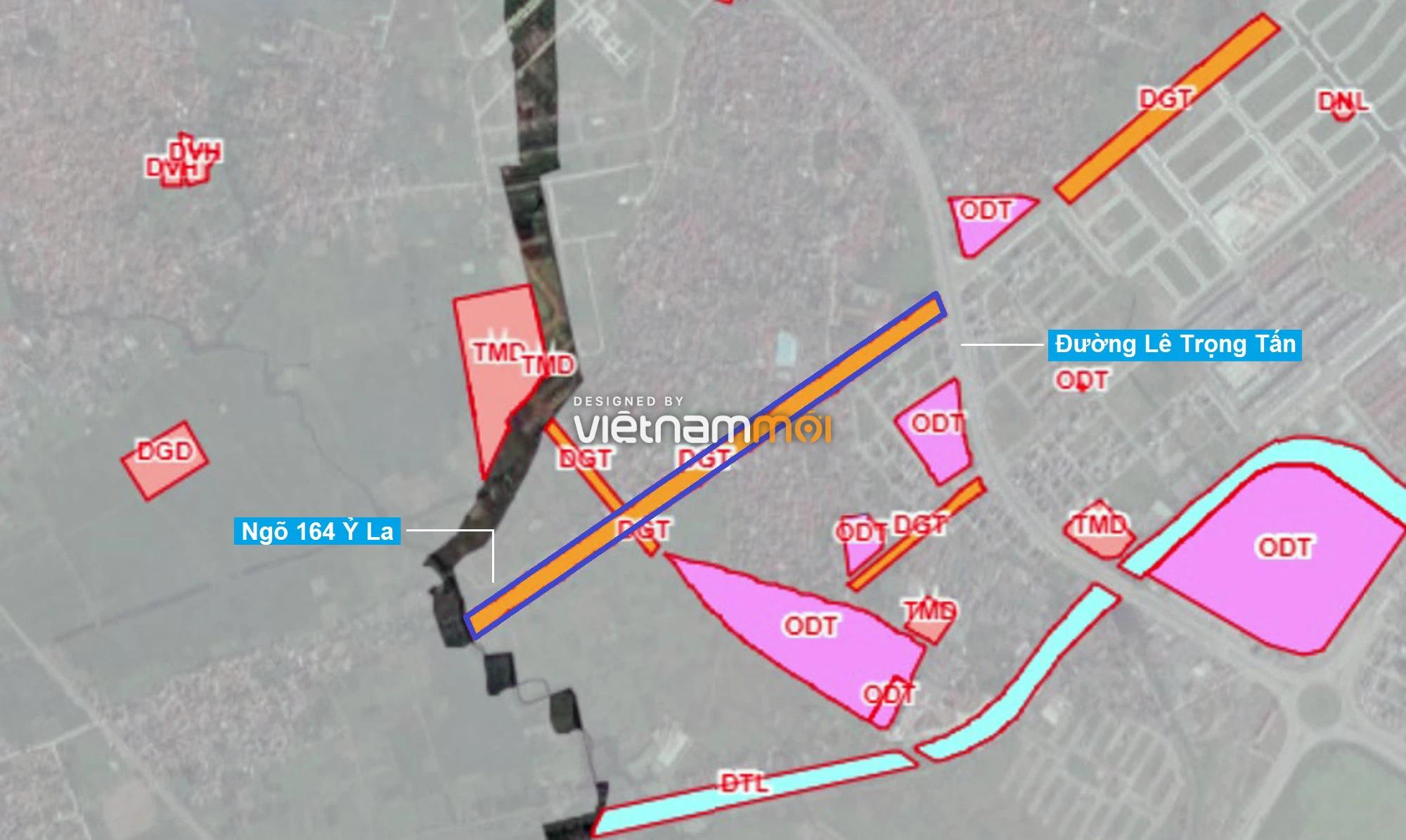 Những khu đất sắp thu hồi để mở đường ở phường Dương Nội, Hà Đông, Hà Nội (phần 1) - Ảnh 1.