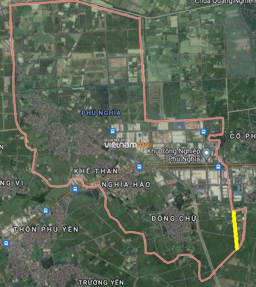 Đường sẽ mở ở xã Phú Nghĩa, Chương Mỹ, Hà Nội - Ảnh 3.