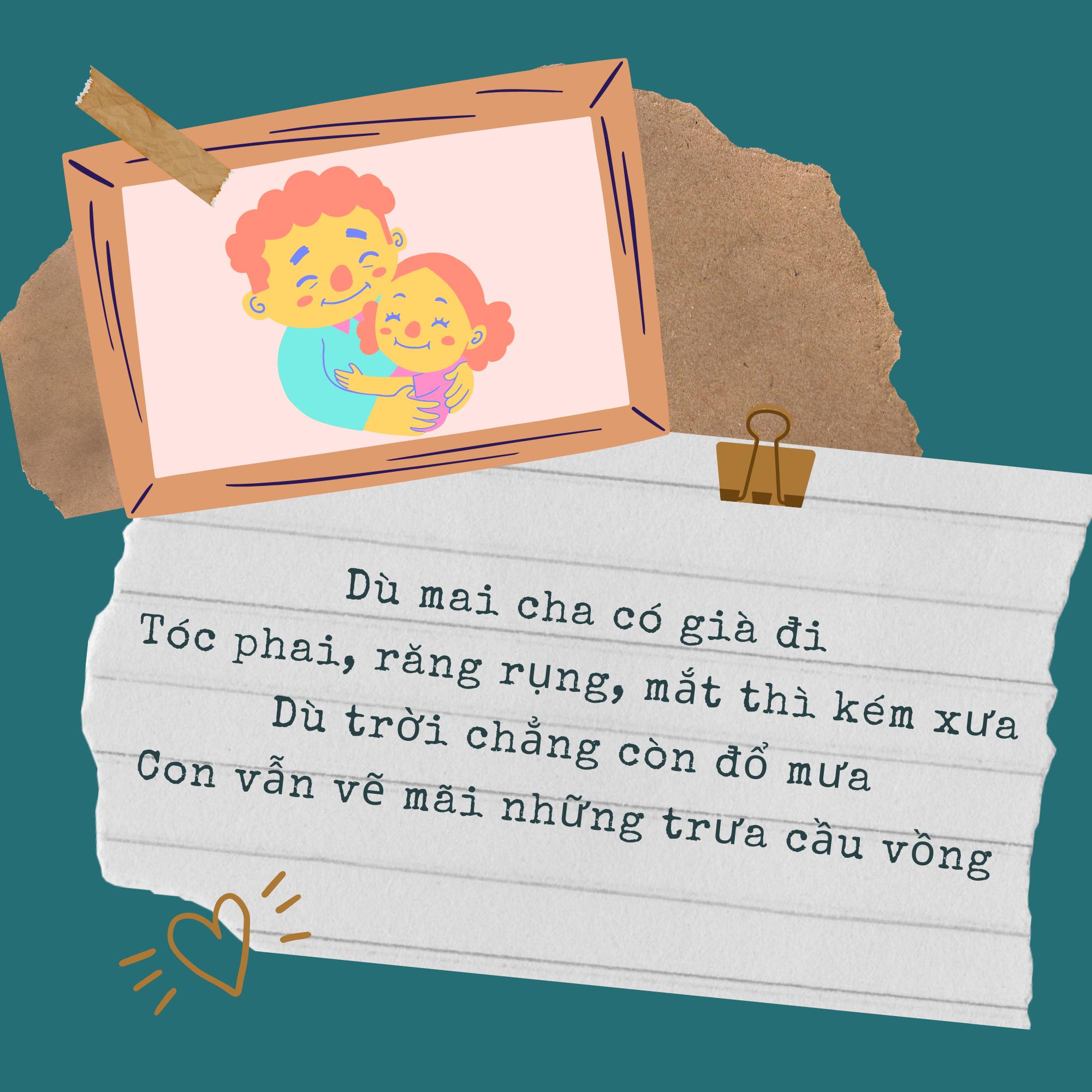 Tham khảo những câu thơ ngắn nói về cha đong đầy ý nghĩa - Ảnh 2.