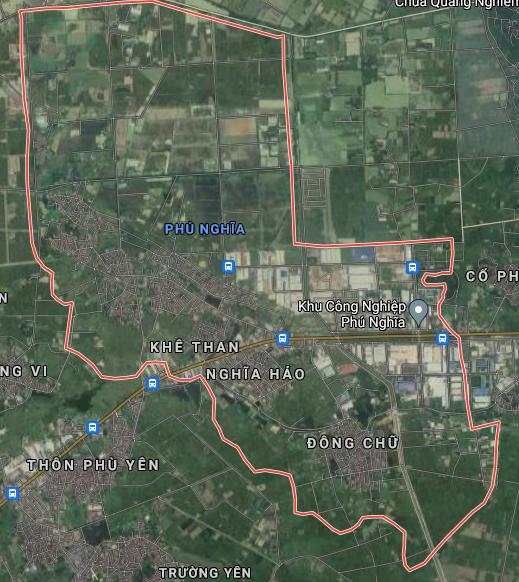 Bản đồ quy hoạch sử dụng đất xã Phú Nghĩa, Chương Mỹ, Hà Nội - Ảnh 1.