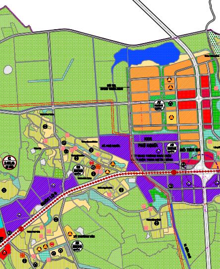 Bản đồ quy hoạch sử dụng đất xã Phú Nghĩa, Chương Mỹ, Hà Nội - Ảnh 3.