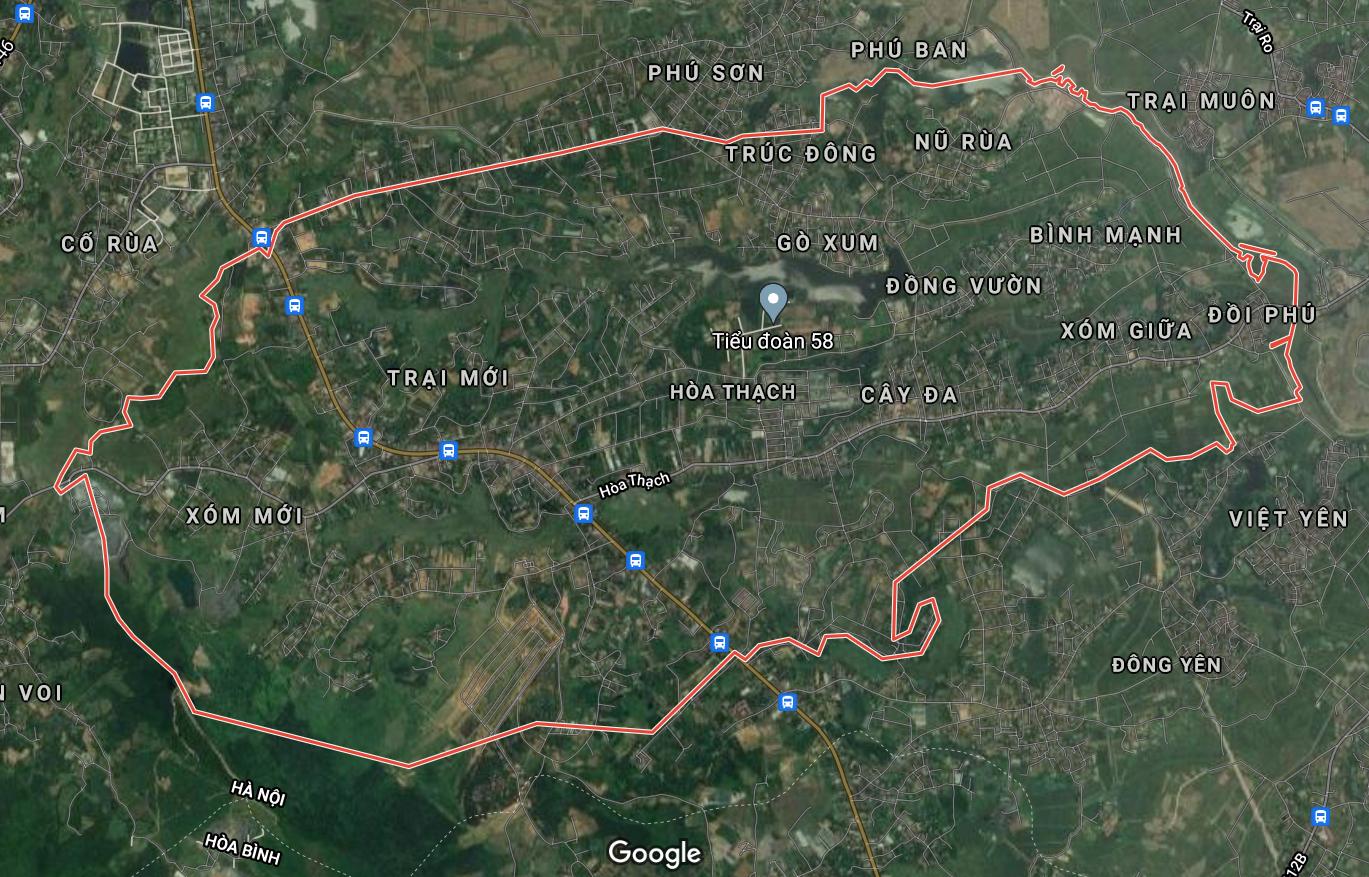 Kế hoạch sử dụng đất xã Hòa Thạch, Quốc Oai, Hà Nội năm 2021 - Ảnh 1.
