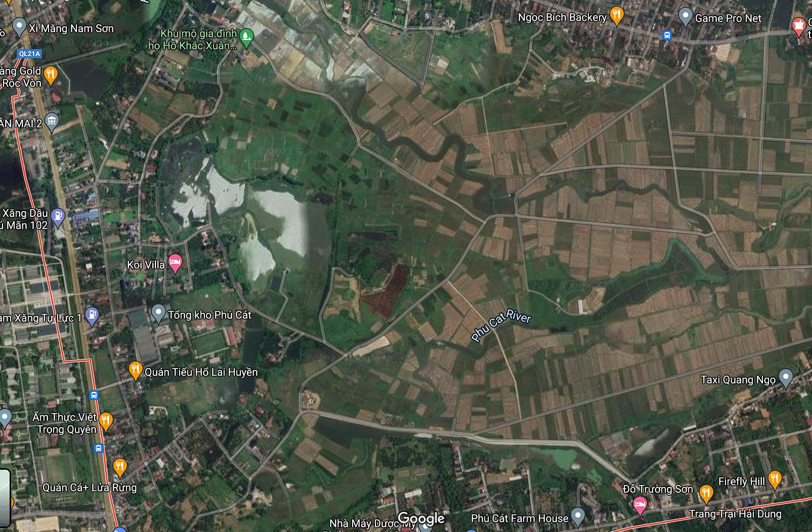 Đất dính quy hoạch ở xã Phú Cát, Quốc Oai, Hà Nội - Ảnh 2.