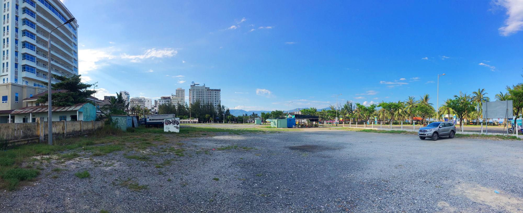Cận cảnh hai khu đất sát bãi biển Mỹ Khê đẹp nhất Đà Nẵng sẽ đấu giá làm bãi đỗ xe - Ảnh 7.