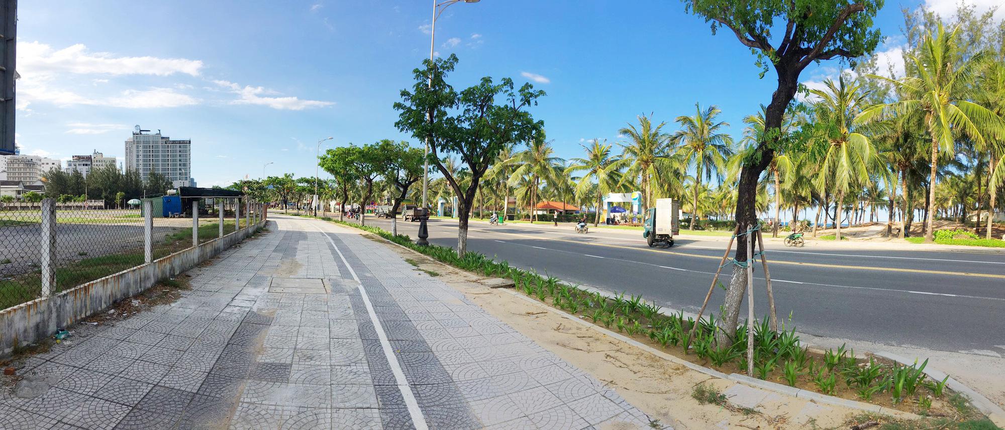 Cận cảnh hai khu đất sát bãi biển Mỹ Khê đẹp nhất Đà Nẵng sẽ đấu giá làm bãi đỗ xe - Ảnh 3.