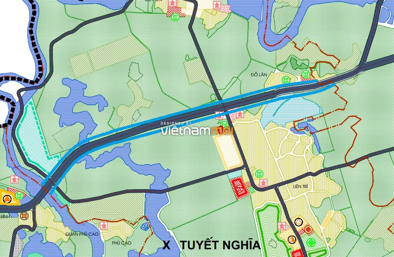 Đường sẽ mở ở xã Tuyết Nghĩa, Quốc Oai, Hà Nội - Ảnh 1.