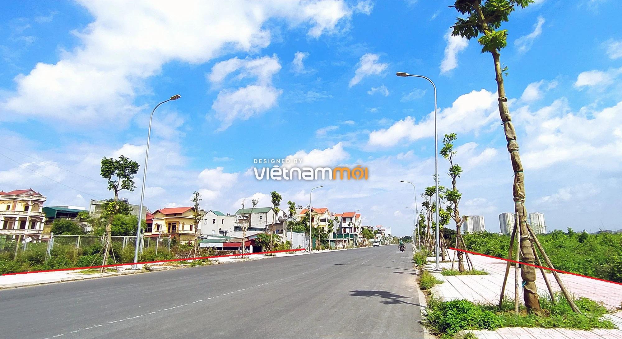 Toàn cảnh đường nối Bát Khối - QL1A đang mở theo quy hoạch ở quận Long Biên, Hà Nội - Ảnh 5.