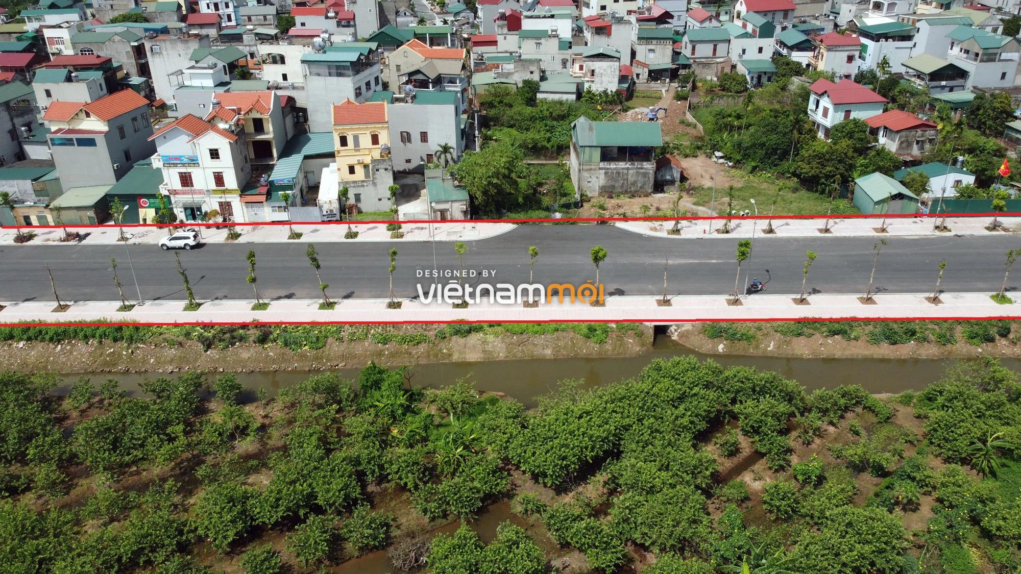 Toàn cảnh đường nối Bát Khối - QL1A đang mở theo quy hoạch ở quận Long Biên, Hà Nội - Ảnh 7.