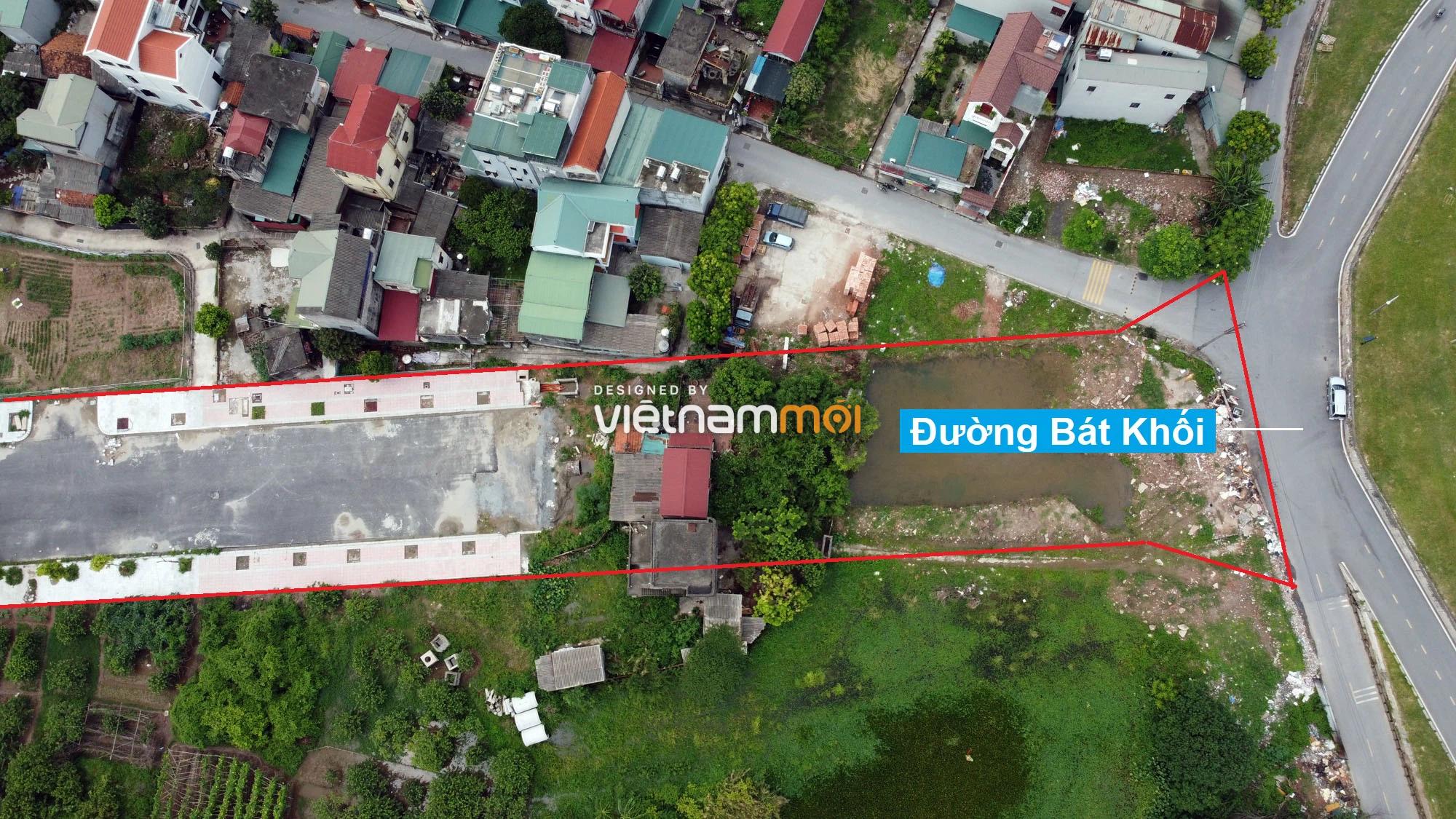 Toàn cảnh đường nối Bát Khối - QL1A đang mở theo quy hoạch ở quận Long Biên, Hà Nội - Ảnh 10.